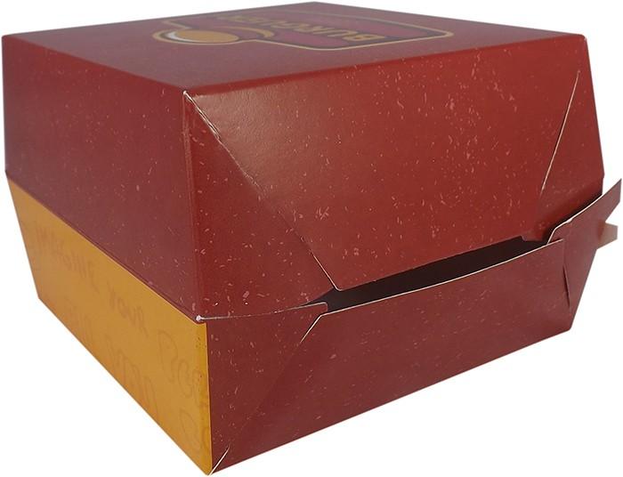 Caixinha Embalagem Para Hamburguer 500 unidades