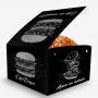 Box   Embalagem para Hambúrguer PEQUENO VÁRIAS CORES
