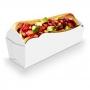 Caixinha | Embalagem para MINI Cachorro Quente BRANCO - 100 unidades