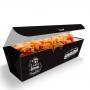 Delivery   Embalagem para Hot Dog 25cm PRETO - 300 unidades