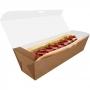 Delivery | Embalagem para Hot Dog 30cm KRAFT - 100 unidades