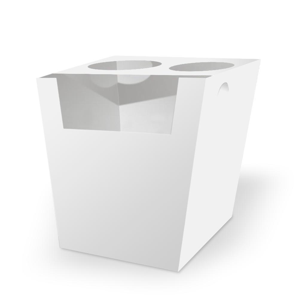 Box | Embalagem para Churros Espanhol BRANCO - 100 unidades
