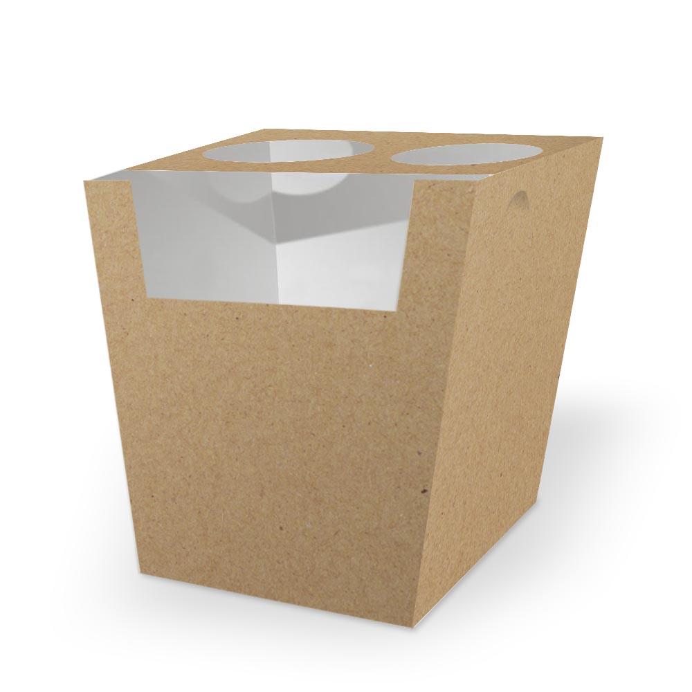Box | Embalagem para Churros Espanhol KRAFT - 100 unidades