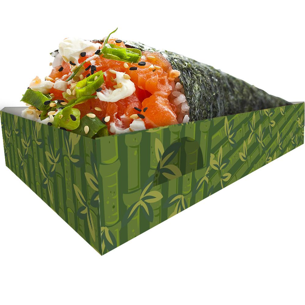 Caixa Caixinha Embalagem para Temaki - 2.000 unidades