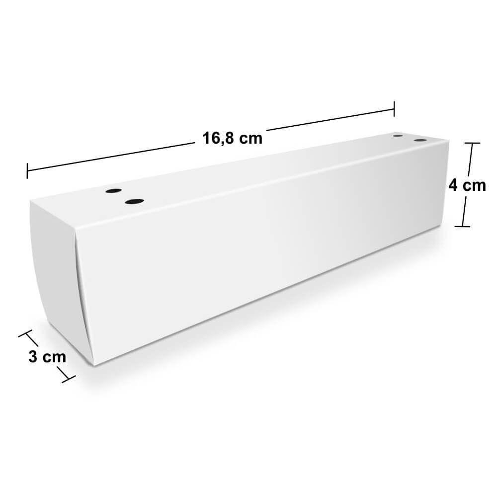 Caixa   Embalagem de Churros para Viagem - Várias Cores  - 1000 unidades