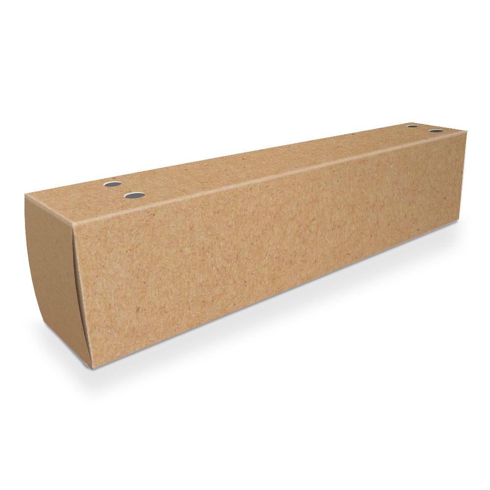 Caixa| Embalagem para Delivery 1 Churros KRAFT - 100 unidades
