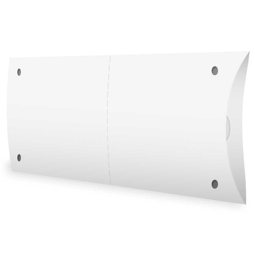 Caixa | Embalagem para Pastel Delivery BRANCO - 100 unidades