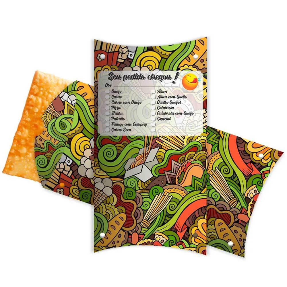 Caixa | Embalagem para Pastel Delivery VERDE 31cm - 100 unidades