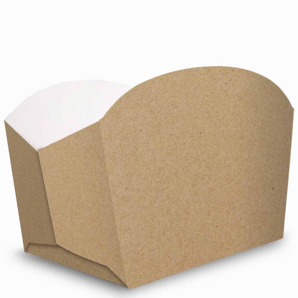 Caixa | Embalagem para Porções e Batata Frita KRAFT - 100 Unidades