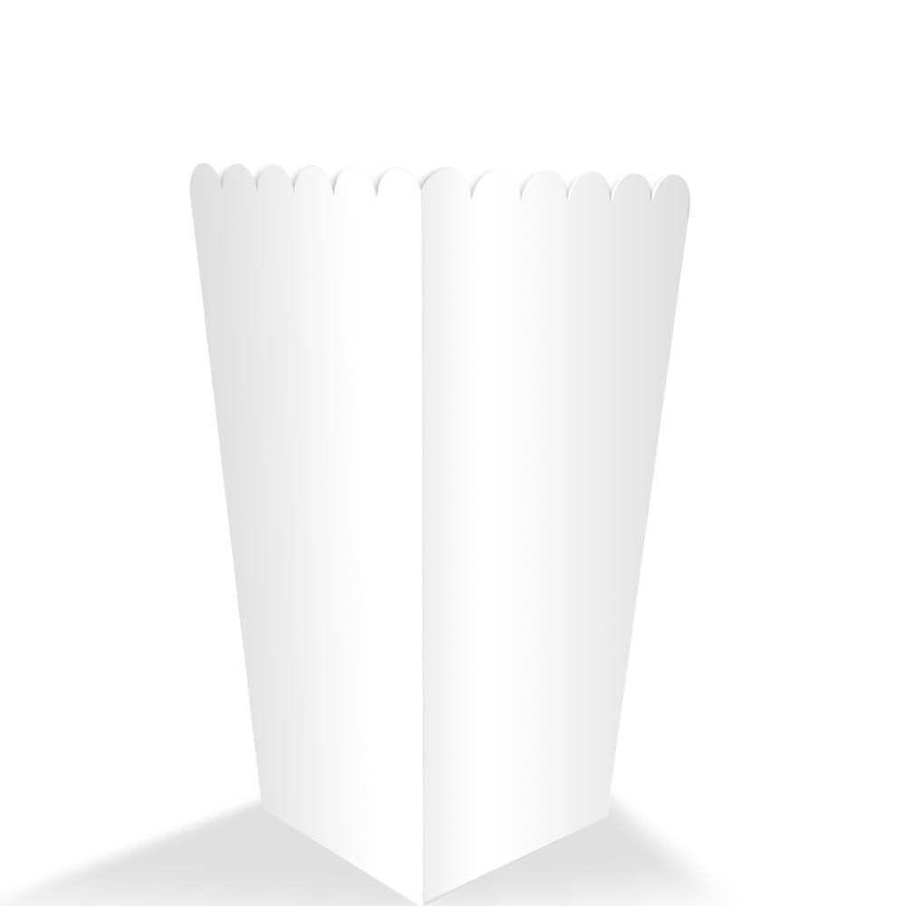 Caixa | Embalagem para Salgados BRANCA PEQUENA - 100 Unidades