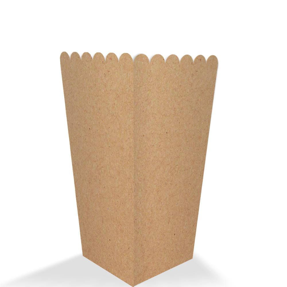 Caixa | Embalagem para Salgados KRAFT PEQUENA - 100 Unidades