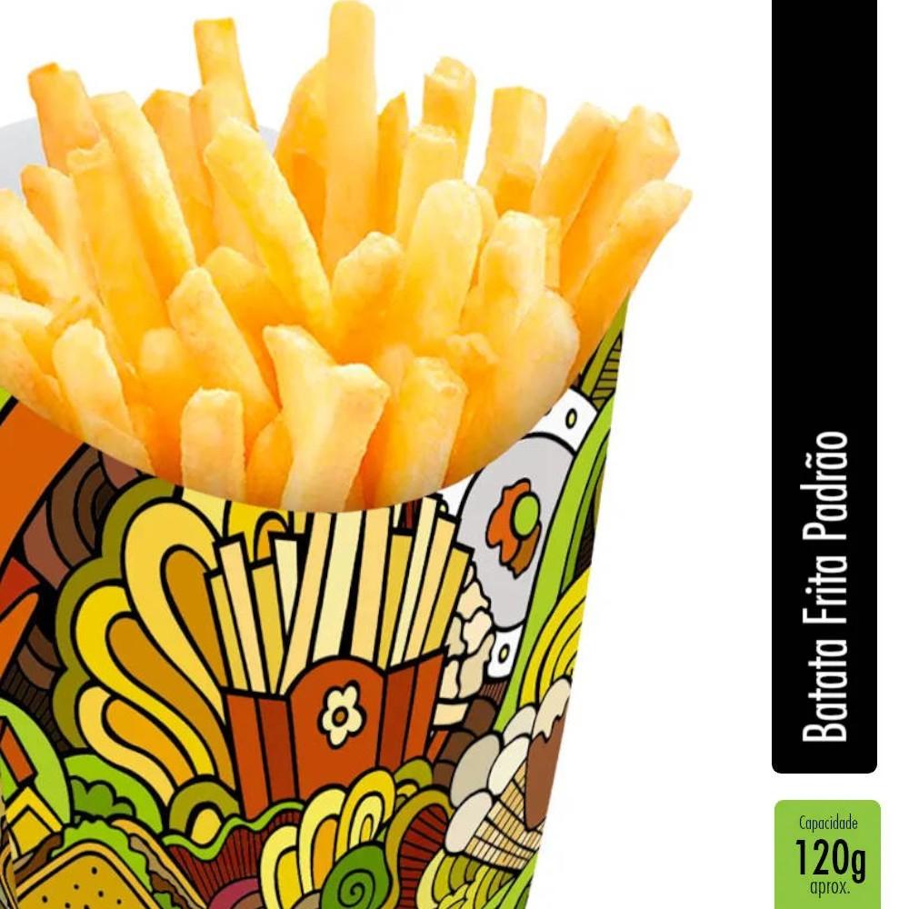 Caixinha | Embalagem para Batata Frita VERDE - 1000 unidades