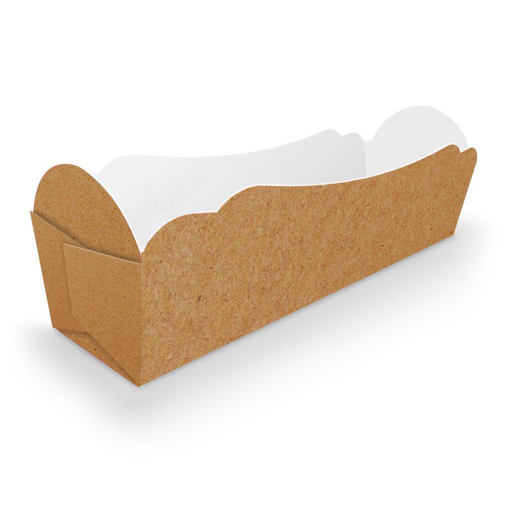 Caixinha   Embalagem para MINI Cachorro Quente - 500 unidades