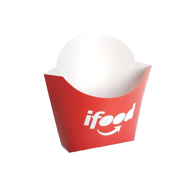 Caixinha | Embalagem Personalizada para Batata Frita - 1000 Unidades