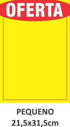 Cartaz de Ofertas e Promoções Pequeno 1.000 unidades