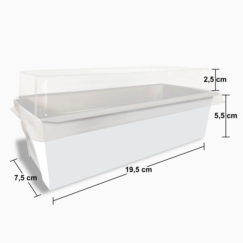 Forma | Embalagem para Bolo Inglês com Tampa - Vários Modelos - 1000 Unidades