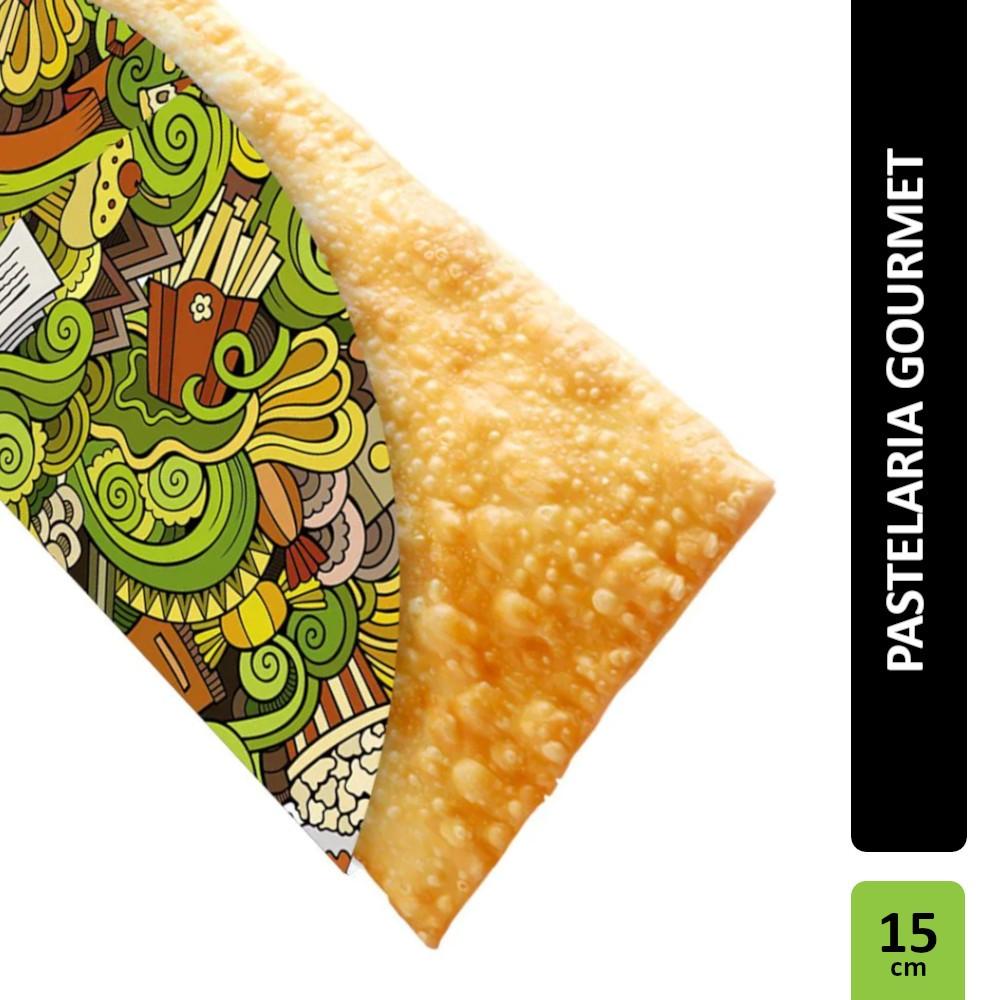 Embalagem para Pastel Gourmet Verde - 300 unidades