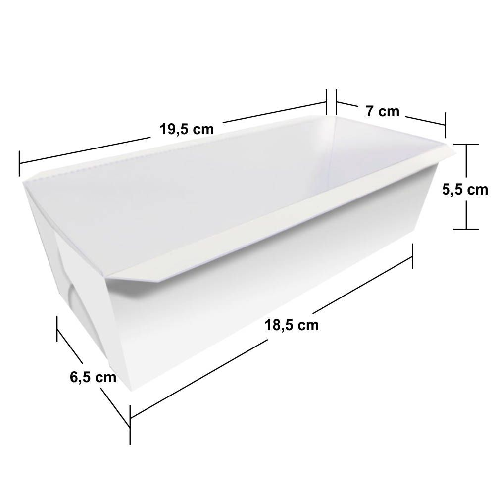 Forma | Embalagem para Bolo Inglês com Tampa - Vários Modelos - 100 Unidades
