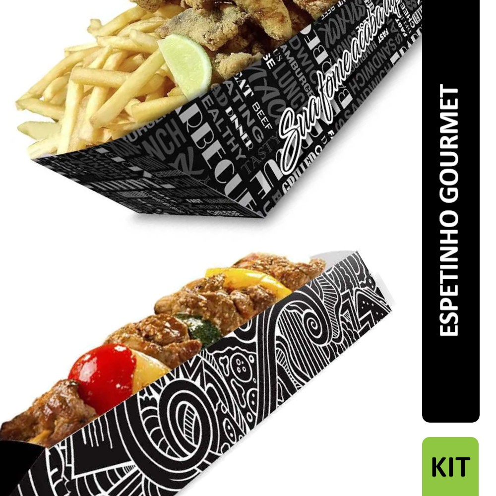 KIT Espetinho Gourmet