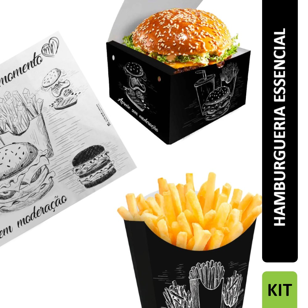 KIT Hamburgueria Essencial