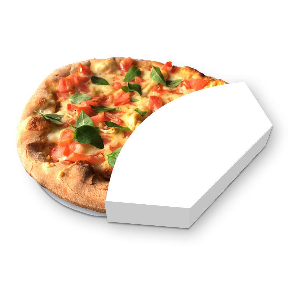 Suporte | Embalagem para Mini Pizza Brotinho BRANCO ? 100 unidades