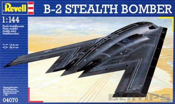 B-2 Stealth Bomber - 1/144 - Revell 04070  - BLIMPS COMÉRCIO ELETRÔNICO