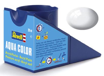 Tinta Acrílica Revell Aqua Color Branco Brilhante - Revell 36104  - BLIMPS COMÉRCIO ELETRÔNICO