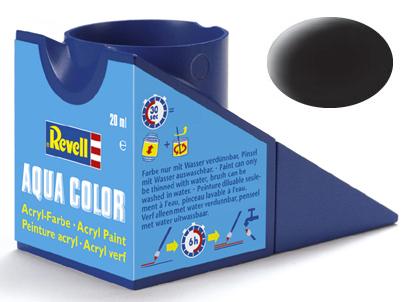 Tinta Acrílica Revell Aqua Color Preto Fosco - Revell 36108  - BLIMPS COMÉRCIO ELETRÔNICO