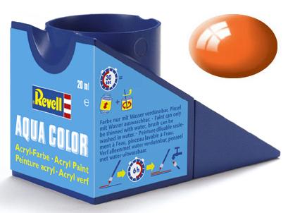 Tinta Acrílica Revell Aqua Color Laranja Brilhante - Revell 36130  - BLIMPS COMÉRCIO ELETRÔNICO