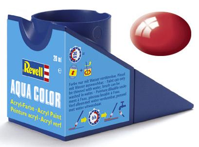 Tinta Acrílica Revell Aqua Color Vermelho Ferrari - Revell 36134  - BLIMPS COMÉRCIO ELETRÔNICO