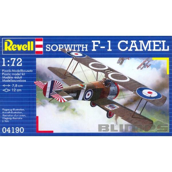 Sopwith F-1 Camel - 1/72 - Revell 04190  - BLIMPS COMÉRCIO ELETRÔNICO