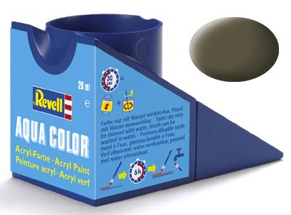 Tinta Acrílica Revell Aqua Color Oliva NATO/OTAN - Revell 36146  - BLIMPS COMÉRCIO ELETRÔNICO