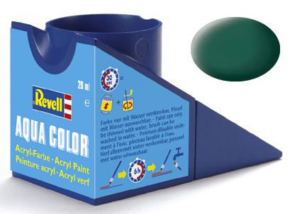 Tinta Acrílica Revell Aqua Color Verde Mar Fosco - Revell 36148  - BLIMPS COMÉRCIO ELETRÔNICO