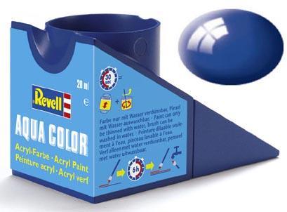 Tinta Acrílica Revell Aqua Color Azul Ultramarino (Azulão) - Revell 36151  - BLIMPS COMÉRCIO ELETRÔNICO