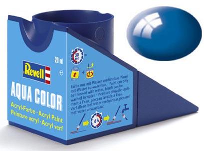 Tinta Acrílica Revell Aqua Color Azul Ultramarino - Revell 36152  - BLIMPS COMÉRCIO ELETRÔNICO