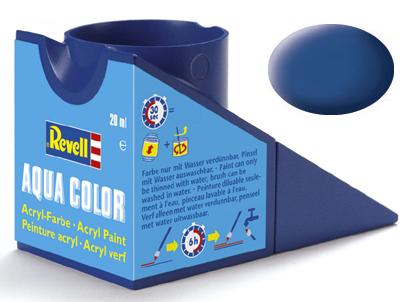 Tinta Acrílica Revell Aqua Color Azul Fosco - Revell 36156  - BLIMPS COMÉRCIO ELETRÔNICO