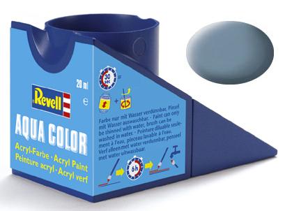 Tinta Acrílica Revell Aqua Color Cinza Fosco - Revell 36157  - BLIMPS COMÉRCIO ELETRÔNICO