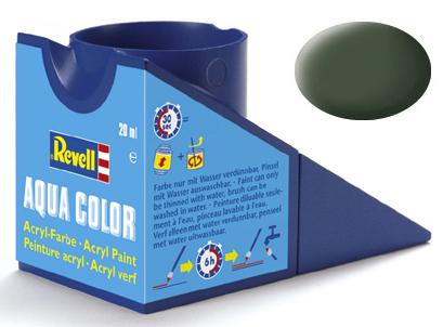 Tinta Acrílica Revell Aqua Color Verde Bronze Fosco - Revell 36165  - BLIMPS COMÉRCIO ELETRÔNICO