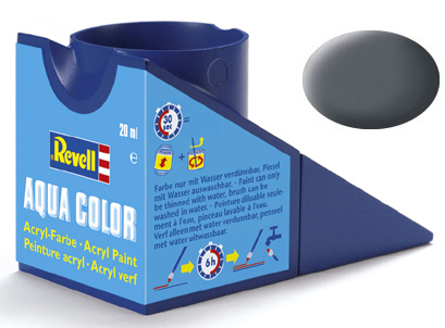 Tinta Acrílica Revell Aqua Color Cinza Canhão USAF - Revell 36174  - BLIMPS COMÉRCIO ELETRÔNICO