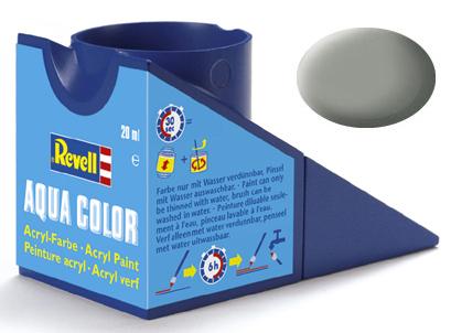 Tinta Acrílica Revell Aqua Color Cinza Pedra Fosco - Revell 36175  - BLIMPS COMÉRCIO ELETRÔNICO