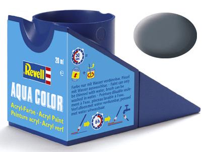 Tinta Acrílica Revell Aqua Color Cinza Fosco - Revell 36177  - BLIMPS COMÉRCIO ELETRÔNICO