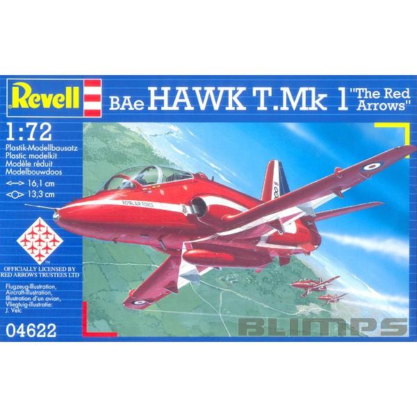 BAe Hawk Mk.1 Red Arrows - 1/72 - Revell 04622  - BLIMPS COMÉRCIO ELETRÔNICO