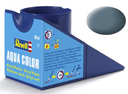 Tinta Acrílica Revell Aqua Color Cinza Azulado Fosco - Revell 36179  - BLIMPS COMÉRCIO ELETRÔNICO