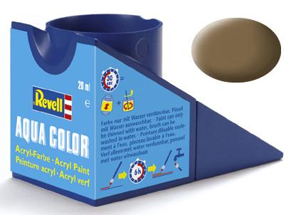 Tinta Acrílica Revell Aqua Color Terra Escuro - Revell 36182  - BLIMPS COMÉRCIO ELETRÔNICO