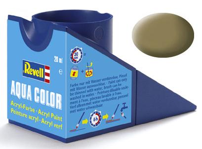 Tinta Acrílica Revell Aqua Color Cáqui Fosco - Revell 36186  - BLIMPS COMÉRCIO ELETRÔNICO