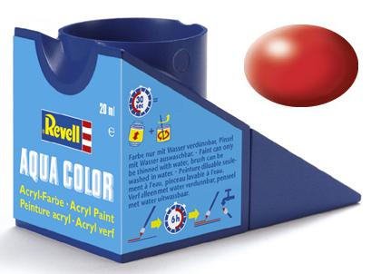 Tinta Acrílica Revell Aqua Color Vermelho Fogo - Revell 36330  - BLIMPS COMÉRCIO ELETRÔNICO