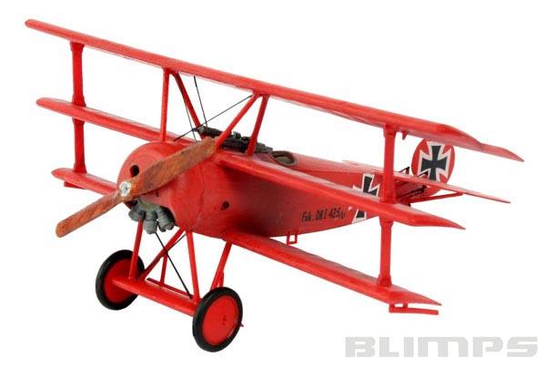 Model-Set Fokker DR.1 Triplane - 1/72 - Revell 64116  - BLIMPS COMÉRCIO ELETRÔNICO