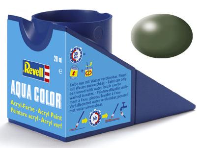 Tinta Acrílica Revell Aqua Color Verde Oliva Seda - Revell 36361  - BLIMPS COMÉRCIO ELETRÔNICO
