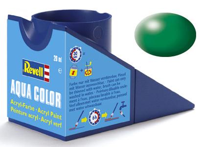 Tinta Acrílica Revell Aqua Color Verde Folha Seda - Revell 36364  - BLIMPS COMÉRCIO ELETRÔNICO