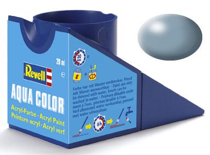 Tinta Acrílica Revell Aqua Color Cinza Seda - Revell 36374  - BLIMPS COMÉRCIO ELETRÔNICO